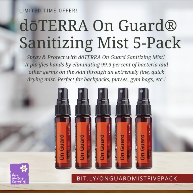 on guard mist 5 pack
