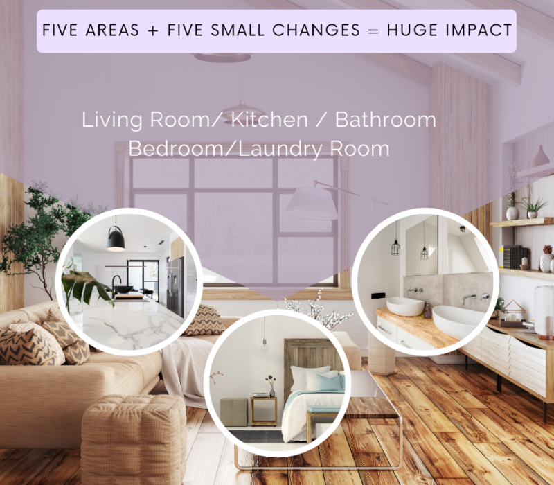 five areas + five small changes = huge impact (3)